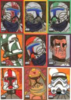 Topps Star Wars Galaxy 6 - 04 by JoeHoganArt