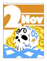 November 2 - Day of the Dead by Gerry-Lee