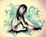 The lonely Girl. by LadyOFsorrowsX3