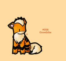 #058 - Growlithe by FrostTechnology