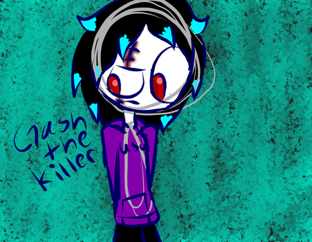 Gash The Killer (colored) by renathecat