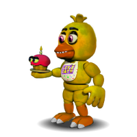 Chica Accurate FNAF 1 by YinyangGio1987
