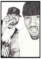 Method Man and Redman by AwardTour