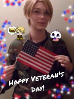 APH - Happy Veteran's Day! by Kimiko-Otaku