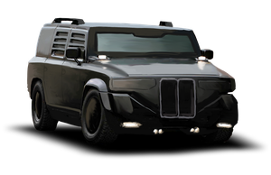 Shadowrun Humvee knockoff by raben-aas