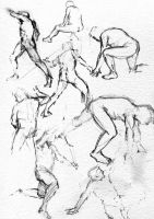 Life Drawing 1 by DavidSadler