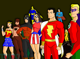 Justice Society by TULIO19mx