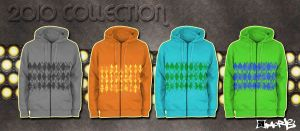 2010 hoodie collection by aMorle