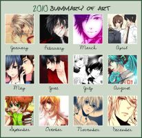 2010 Summary of Art by akamenashi