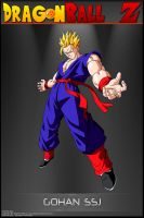 Dragon Ball Z - Gohan SSJ TWKG by DBCProject