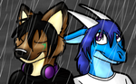 In the Rain by NatLeo
