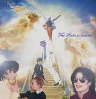 MJ Stairs To Heaven by RainBowSparkleQueen