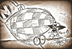 N.Cortex -Airship by sperhak618