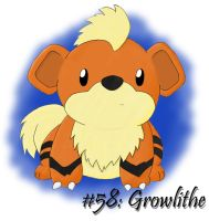 58: Growlithe by TouchFuzzyGetDizzy