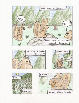The Squirrel - Page 1 by dalewaters