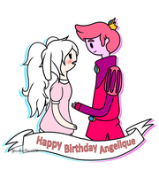 ~Happy Birthday Angelique~ by YanstarPrior250
