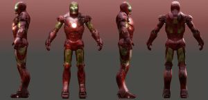 Iron Man Shaders preview by CubicalMember