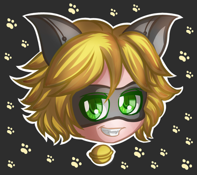 Chat Noir Icon! by Saphinel