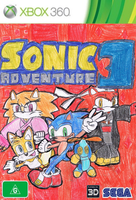 Sonic Adventure 3 english 360 cover by Dengen-Toshiko