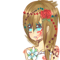 flower ladyy by JinxRuu