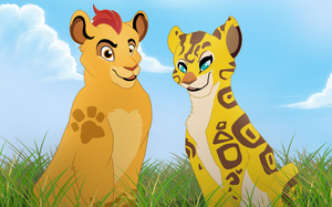 The Lion Guard: Kion and Fuli by Gominola1607