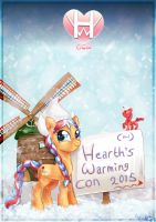 Hearth's Warming Con A2 Poster by avui