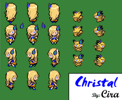 Sprite Pokemon BW .:Christal:. by ChristalLovePkmn