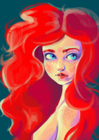 Speedpaint - Red by kangel