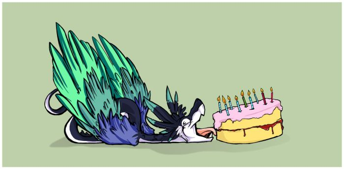 Let them eat cake by spacehyenas