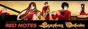 CR - MB Red Notes by UlfaShirayukiHime