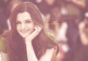 Rachel Weisz by bubblenubbins