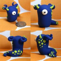 Zinnita the Timid Monster by TimidMonsters