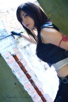 Tifa Lockhart |Advent Children| Danielle Vedovelli by daniellevedo