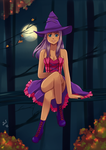 Purple Witch by oPoof