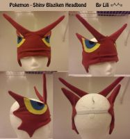 Shiny Blaziken Headband by LiliNeko