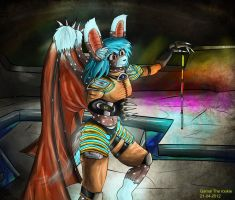 Cyber punk - Lizae by Gamal-the-rookie