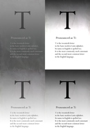 T for Typography by Think-Creative