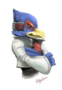 Falco by dragonlights