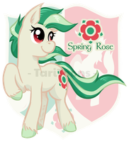 Spring Rose by TariToons