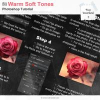 Warm Soft Tones Edit Tutorial by Wnison