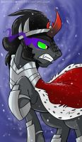 MLP Portrait Series - King Sombra by sophiecabra