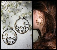 Hoop earrings by JSjewelry