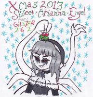 Xmas 2013: SweetxAriannaxEngel by gilster262