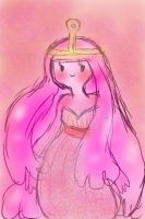 Fingerpaints: Princess Bubblegum by Ask-MusicPrincess3rd