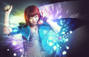 Music. by Supo77Art-Dsn