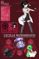 PDL: Cecilia Wormwood by lunatic-neko