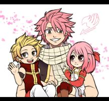 The Dragneel Family by Fannochka