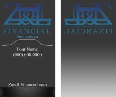 Business Card Design by Zatarian