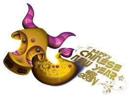 Happy Chinese New Year 2009 by Seanleedesign