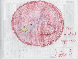 Burd of happiness by dianakudai27
